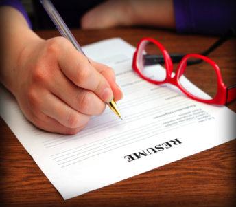 Resume writing resized