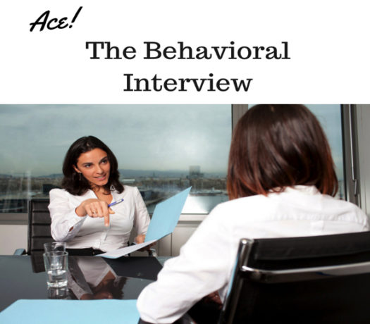Ace the Behavioral Interview